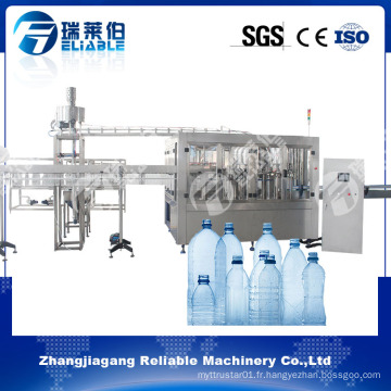 Machine de remplissage d'eau minérale automatique complète pour bouteille en plastique