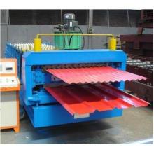 Máquina Formadora de Rolos de Painel para Telhado de Chapa de Aço Galvanizado Dupla Camada