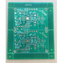 Factory source manufacturing for Black Prototype PCB 2 layer 1.6mm  green solder ENIG PCB export to Portugal Supplier