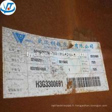 Plaque de résistance aux intempéries laminée à chaud A588 Corten A prix d'usine