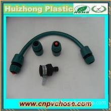 PVC green garden hose pipe tools