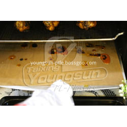 Reusable and non-stick oven liner for baking