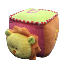 Plush Lion Soft Dice