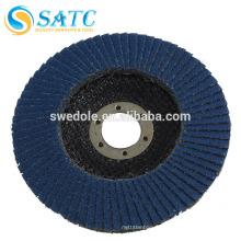 T27 / T29 aluminium zircone rond disque de polissage abrasif bleu