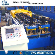Light Gauge Steel Automatic Metal Stud And Track Roll Forming Machine, Aluminium Furring Channel Machine