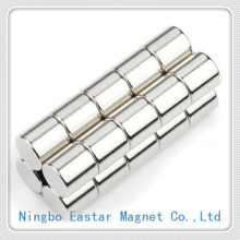 Cylinder Neodymium Magnet with Long Life Nickel Plating