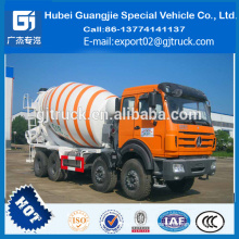 Camión hormigonera de 9 cbm Peso Peso Dimensiones del camión hormigonera