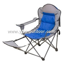 beach chair with foot-rest