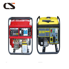 Integrated generator diesel unit machine