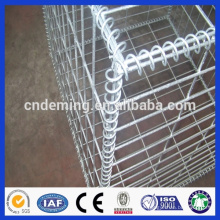 2015 hot sale PVC coated gabion wire mesh box,galvanized gabion box