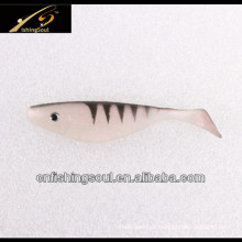 SLL045 Iscas De Pesca De Plástico, Shad Peixe Iscas Macias