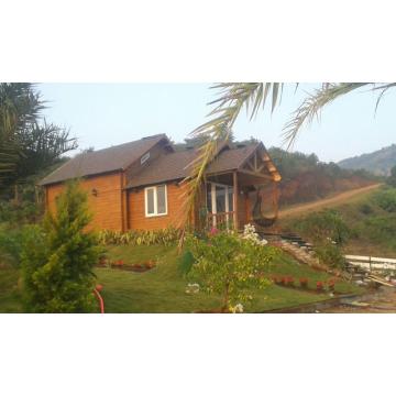 Роскошный жилой деревянный сборный дом