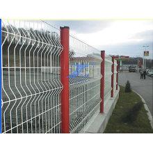 Grillage enduit de PVC de barrière de jardin 50X200mm