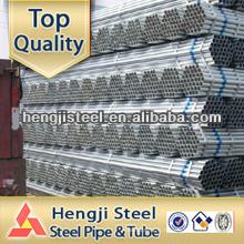ASTM A53 GR.B Tuyau d'eau en acier galvanisé à chaud