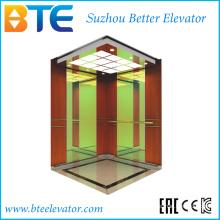 Kc alta classe e baixo ruído elevador de passageiros sem sala de máquinas