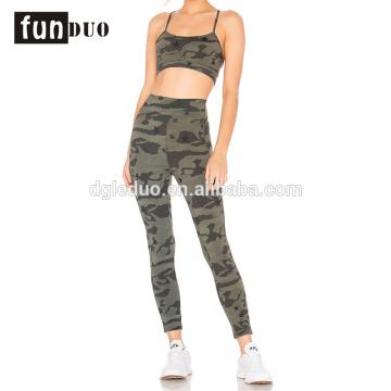 Mais populares moda fitness sexy esporte camo yoga wear Mais populares moda fitness sexy esporte camo yoga wear sexy sport wear