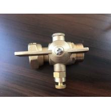 Válvula de plomo del medidor de agua de latón (a 8007)