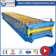 GI Auto Double Layer Steel Roofing Sheet Roll Forming Line