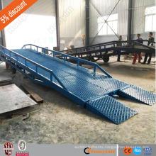 10t china supplier CE mobile yard ramp/telescopic man lift/auto lift