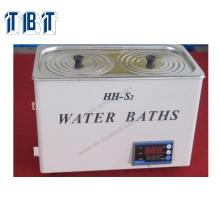 110V 220V One Row Meilleur prix HH-S2 Digital Deux bains d'eau de laboratoire d'ouverture