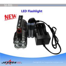 3500lumen Unterwasser-Taschenlampe wiederaufladbare Taschenlampe LED-Taschenlampe Hersteller