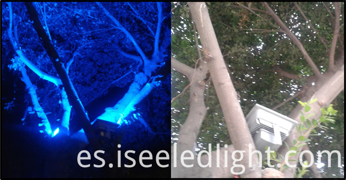 led uplight Flood Light for tree