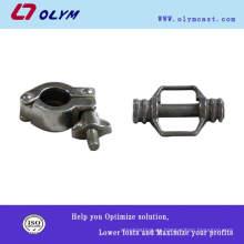 Fundición de fundición certificada iso Fundición de precisión de la pieza de fijación de la bicicleta de acero OEM