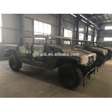 Camión militar fuera de carretera Dongfeng 6X6 para cargas pesadas con carpa y barra