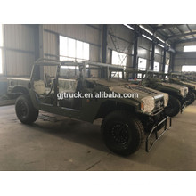 Dongfeng 6X6 off road military truck for heavy duty loading with tent and rod