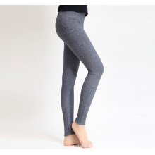 PK18ST087 cashmere yoga pants legging for woman sweat pants