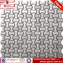 china factory supply Bone shape stainless steel mosaic tile