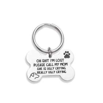 Bone Engraved Dog ID Tags
