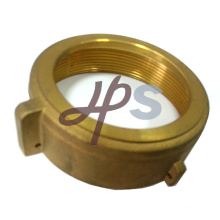 Hot forging brass water meter cover with plastic cap