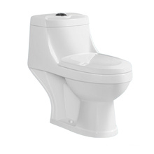 Toilette monobloc en céramique de haute qualité (6517)