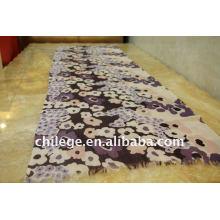 dünne Mode Druck Schal Hals Schal Wolle gedruckt Schals