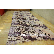 thin fashion print scarf neck shawl wool printed scarves
