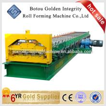 Hochwertige Boden Deck Formmaschine in China, Boden Fliesen machen Maschine