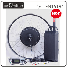 MOTORLIFE/OEM 48V10AH 1000W Rear Rack electric bike lithium battery kit