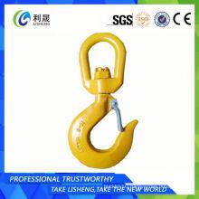 Self-Locking Safety Eye Hook