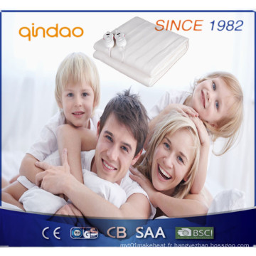 Hot Sale Ce / GS / CB / BSCI Approved Washable Electric Heating Blanket