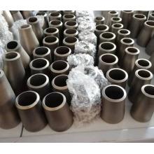 Redutor concêntrico de acessórios para tubos de titânio puro