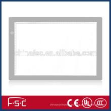 Популярные Светодиодные стекла чертежной доске световой короб с регулируемой яркостью освещения