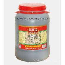 6.4kg Aromatisierte Oyster Sauce mit hoher Qualität
