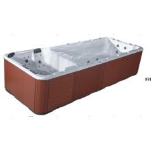 Lujoso baño de acrílico al aire libre SPA (JL997)