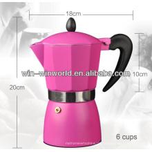 Aluminium farbige Smart Espresso Kaffeemaschine Maschinen