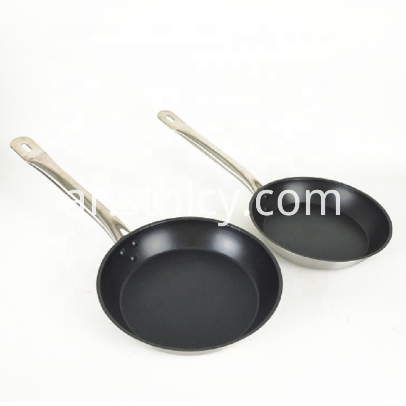 Hotel Stainless Steel frying Pan