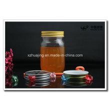 Pots de 450ml et 800ml Mason de verre avec couvercle