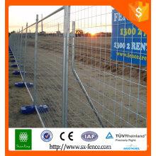 Handelsversicherung Heißverzinkung Temporärer Zaun Abnehmbarer Zaun