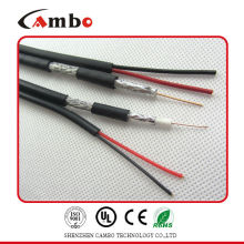 cable telecommunication RG59 power with high quality