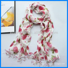 Custom design wholesale linen scarf supplier